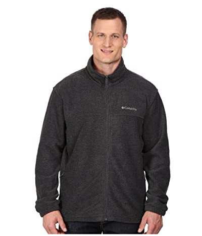 Columbia Big Tall Steens Mountaintm Full Zip 2.0 Jacket (Charcoal Heather) Men