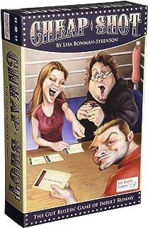 Gut Bustin' Games Shot Insult Rummy Board Game