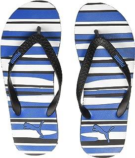 Puma Unisex's Conik Gu Idp Black White-indig Flip-Flops