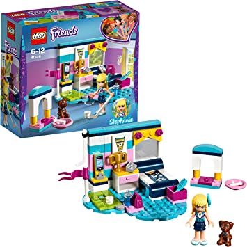 Lego Friends Stephanies Zimmer 41328 Konstruktionsspielzeug Amazon De Spielzeug