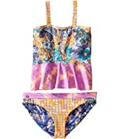 Maaji Kids - Honey Peplum Bikini Set (Toddler/Little Kids/Big Kids)