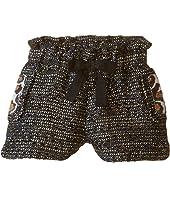 Little Marc Jacobs - Resort - Lurex Shorts Panter Pockets Details (Toddler/Little Kids)