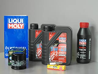Set di manutenzione Polaris Sportsman 570, ispezione filtro olio, olio del cambio, candela di accensione.