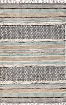 Royal Rug Gallery Cotton Durry/Durrie/Rug 4X6 ft Multi Colour 1 Pc