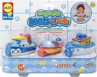 Alex Rub a Dub Magnetic Boats in the Tub Kids Bath Activity