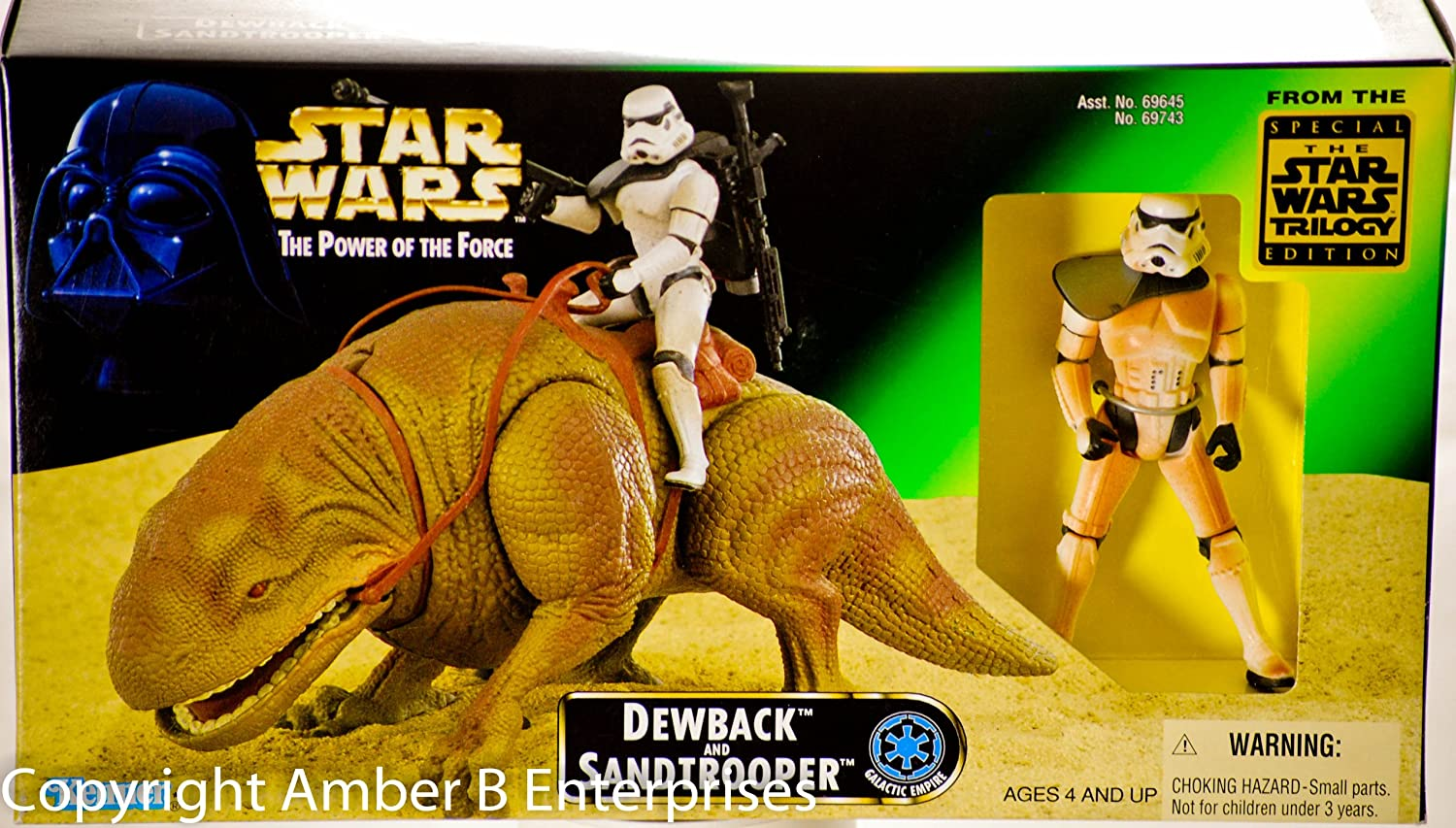 Star Wars Power of the Force Beast Pack Dewback & Sandtrooper Action Figures