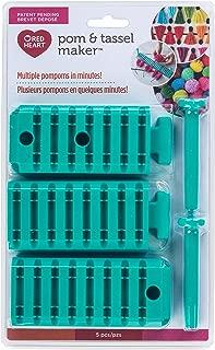 RED HEART 84064.0001 Pom Pom & Tassel Maker Teal