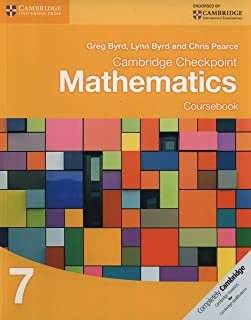 Cambridge Checkpoint Mathematics Coursebook 7 by Greg Byrd - Paperback