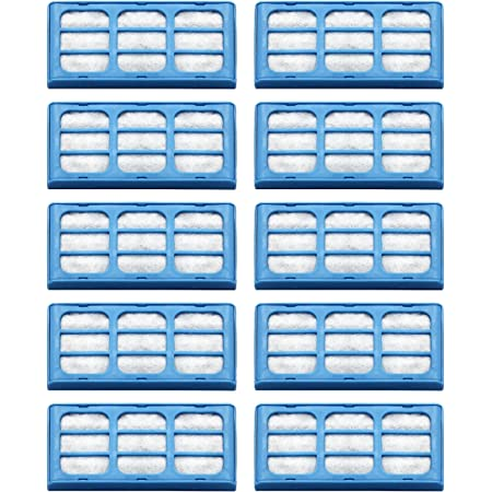 Replacement Water Filter Cartridges for Cat Mate & Dog Mate Fountains, Pack of 10