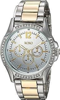 ساعة اكس او اكس او للنساء انالوج كوارتز مع حزام معدني، درجتين، 19 (XO192)