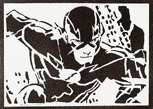Poster The Flash Liga de la Justicia Grafiti Hecho a Mano - Handmade Street Art - Artwork