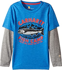 Carhartt Kids - Force Fish Camp Tee (Little Kids)