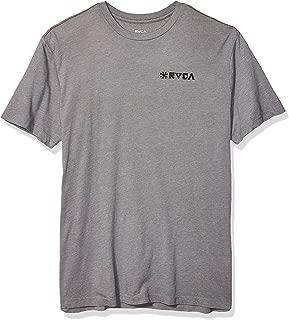 Men's Linocut Short Sleeve Crew Neck T-Shirt