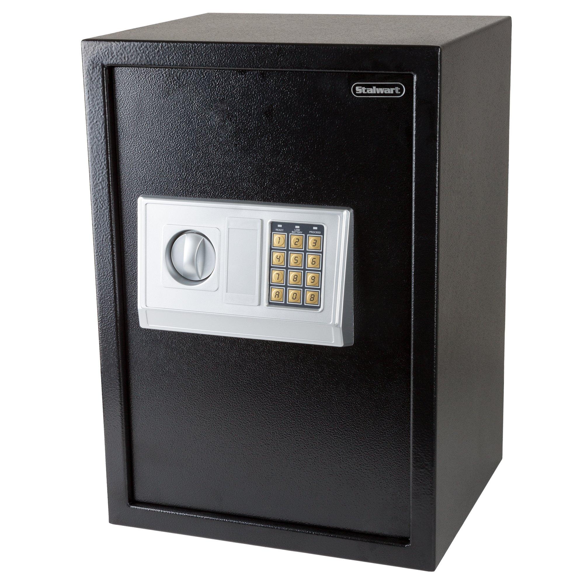 Stalwart Safe Electronic Extra Large Keys Protect Passports