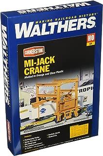 Walthers Cornerstone HO Scale Model  Mi-Jack Translift Intermodal Crane
