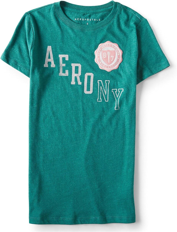 Aeropostale Womens East Coast Athletic Graphic T-Shirt