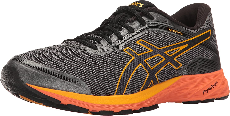 ASICS Men's Dynaflyte Running schuhe, Carbon schwarz Citrus, 8 M US