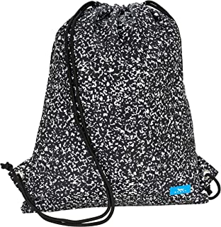 drawstring bag with pockets pattern