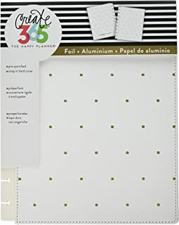 me & my BIG ideas  COLC-07 Create 365 The Happy Planner Classic Snap In Cover, Hard White