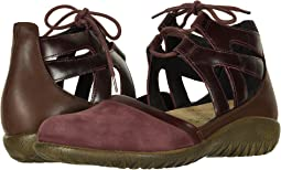 Violet Nubuck/Bordeaux Leather/Toffee Brown Leather