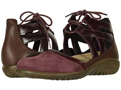 Naot Kata (Violet Nubuck/Bordeaux Leather/Toffee Brown Leather) Women