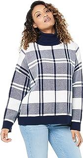 IMONNI Women's Ariella Check Knit