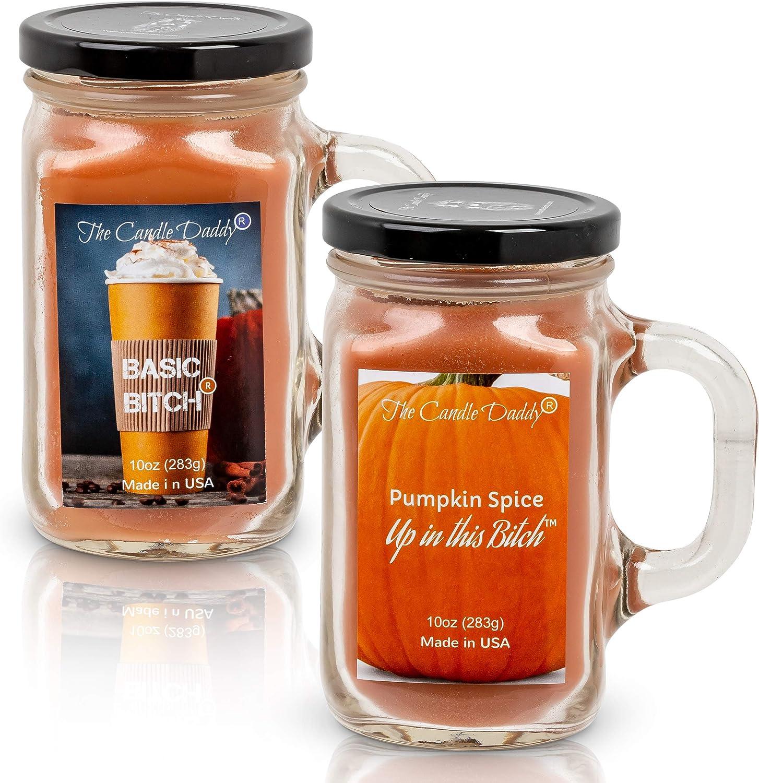 Naughty Pumpkin Spice 10 oz 倉 Bitch Basic オーバーのアイテム取扱☆ Candle Combo-