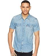 Levi's® Premium - Premium Barstow Western Short Sleeve Denim Shirt