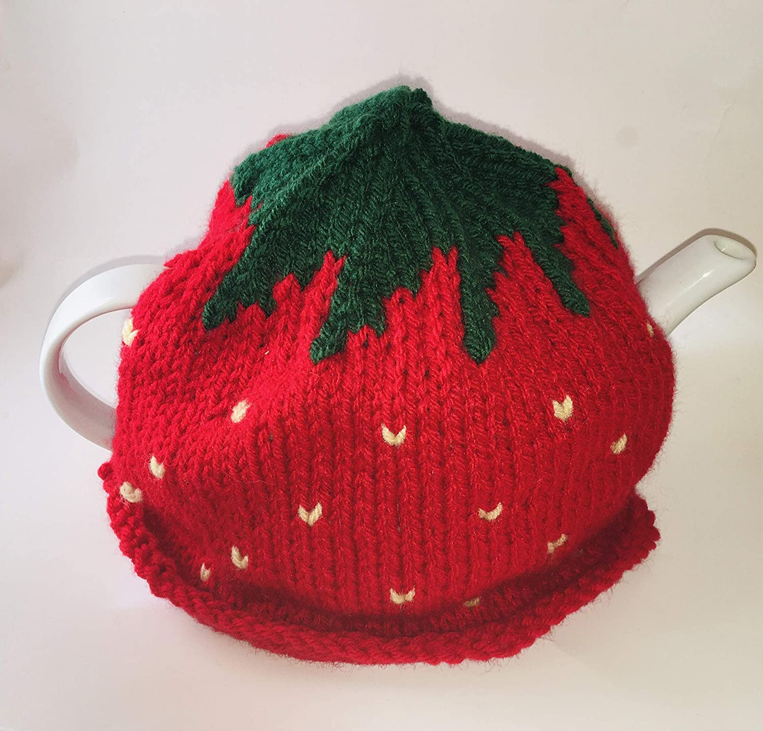 Strawberry Tea Sale SALE% OFF Cozy Knitted Hand Memphis Mall Teapot