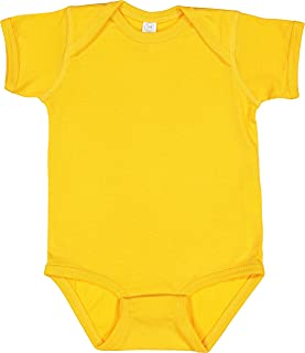 Infant 100% Cotton Jersey Lap Shoulder Short Sleeve Bodysuit