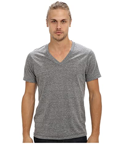 Alternative Boss V-Neck Tee (Eco Grey) Men