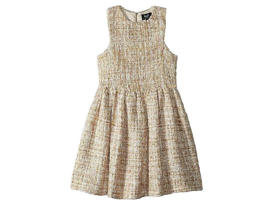 Bardot Junior Vie Boucle Dress (Big Kids) (Gold Boucle) Girl