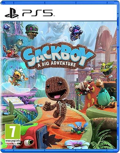 Sackboy : A Big Adventure sur PS5, Jeu de plateforme et d'aventure 3D, Edition Standard, 1 à 4 joueurs, Version physi...