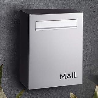 Mailbox Premium Lockable BT Wall-Mounted Architectural Design Weather-Resistant
