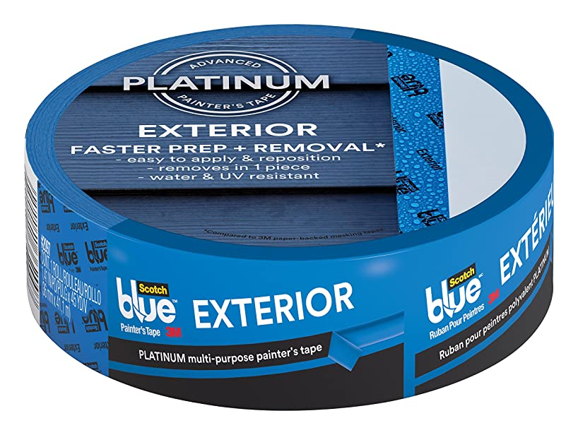 Scotch Exterior Surface Painter's Tape, 1.88 inch x 45 yard, 2097, 1 roll