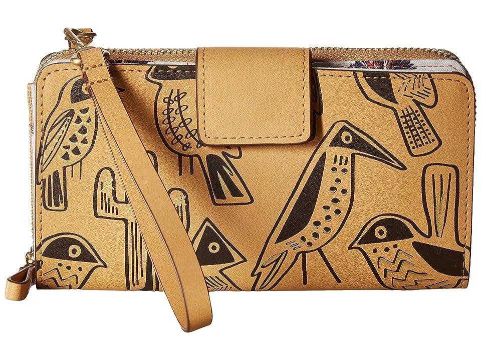 Vera Bradley Resort Wristlet (Vachetta Brown) Wristlet Handbags