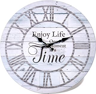 Red Co. Wall Clocks with Messages Large White 51784-HGX