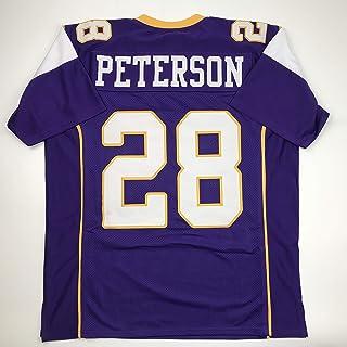 Unsigned Adrian Peterson Minnesota Purple Custom Stitched Football Jersey Size Men`s XL New No Brands/Logos