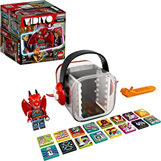 LEGO 43109 VIDIYO Metal Dragon BeatBox Music Video Maker Musical Toy for Kids, Augmented Reality Set with App
