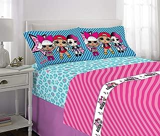 Franco Kids Bedding Super Soft Sheet Set, 4 Piece Full Size, L.O.L. Surprise