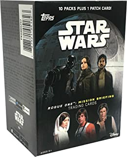 Topps Star Wars: Road to Rogue One Trading Cards Value Box 10ct, Multicolor