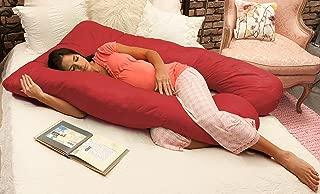 Naomi Home Cozy Body Pillow Red