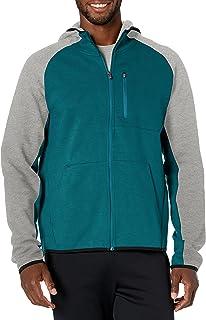 Starter Mens Double Knit Colorblocked Zip-up Hoodie