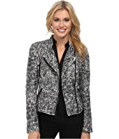 Sam Edelman Crackle Moto Jacket