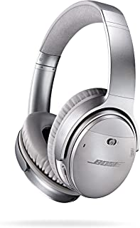 $299 » Bose QuietComfort 35 (Series I) Wireless Headphones, Noise Cancelling - Silver