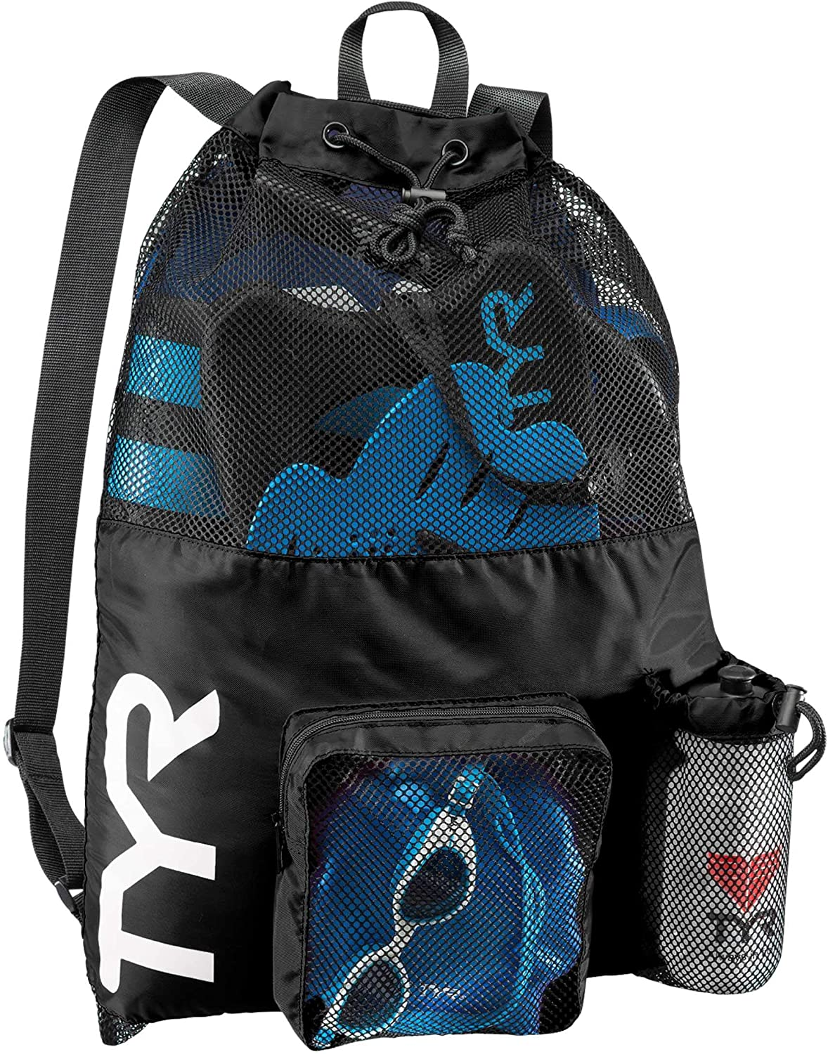 TYR Big Mesh Mummy Backpack For New New arrival arrival Swimming Workout and G Gym Wet
