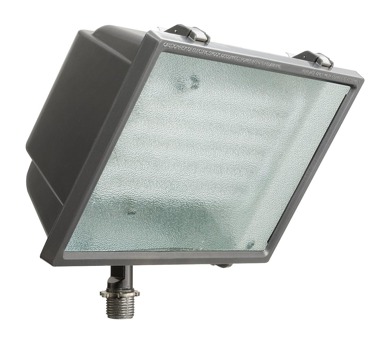 Lithonia Lighting OFL2 65F 120 LP BZ M4 Standard Flood Light with 65-Watt 6500K Triple Tube Compact Fluorescent Lamp, Black Bronze