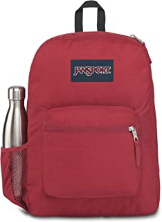 JanSport Unisex Cross Town Remix, Viking Red Heathered 600D - JS0A47LX77D