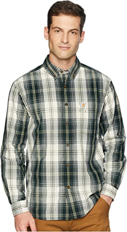 Essential Plaid Button Down Long Sleeve Shirt