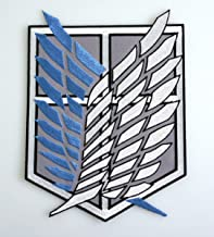 Attack on Titan Wings of Freedom Uniform Patch Set of 4 Patches